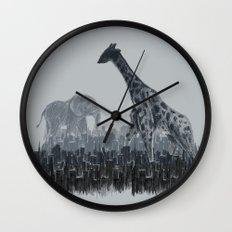 The Tall Grass Wall Clock