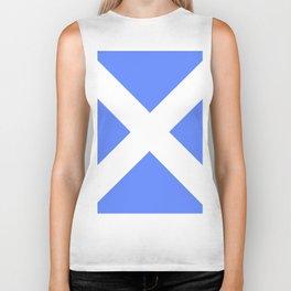 flag of scotland 4– scotland,scot,scottish,Glasgow,Edinburgh,Aberdeen,dundee,uk,cletic,celts,Gaelic Biker Tank