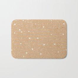 Sideral Heavens - Gold Bath Mat