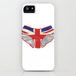Union Jack Knickers iPhone Case