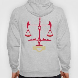 Libra Zodiac, The Scales of Justice | Divine Law Symbol Hoody