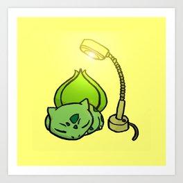 Sunlamp Basking Bulba Art Print