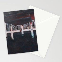 Night Bridge Stationery Cards