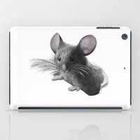 mouse iPad Cases featuring mouse by Кaterina Кalinich