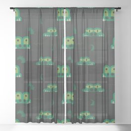 See you later alligator (Patterns Please) Sheer Curtain
