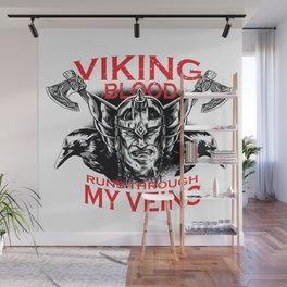 Viking blood Wall Mural