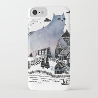fog iPhone & iPod Cases featuring The Fog by littleclyde