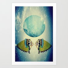 Planet Uranus Art Print