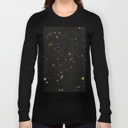 Hubble Space Telescope Field of Galaxies Long Sleeve T-shirt