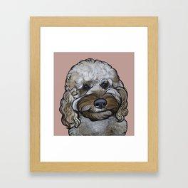 Zoey Framed Art Print