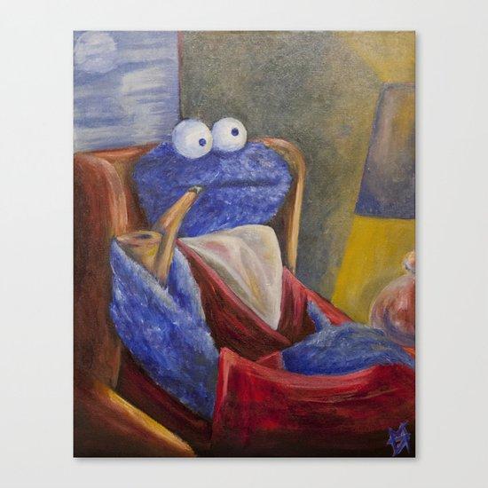Alistair Cookie Canvas Print
