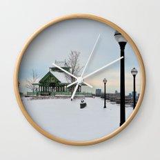 The Kiosk Wall Clock
