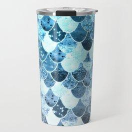 REALLY MERMAID SILVER BLUE Travel Mug