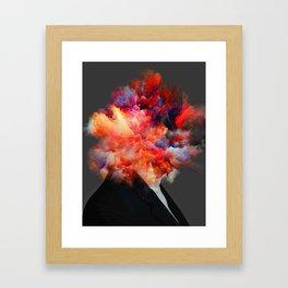Overthinking Mind Framed Art Print