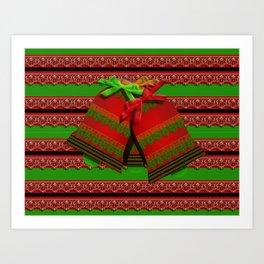 Christmas Bells III Art Print