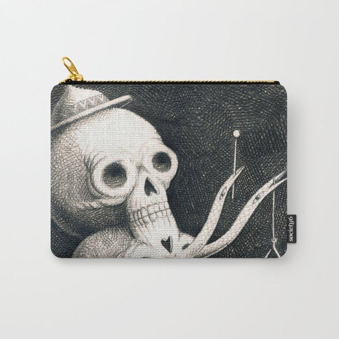 SkullMan Carry-All Pouch