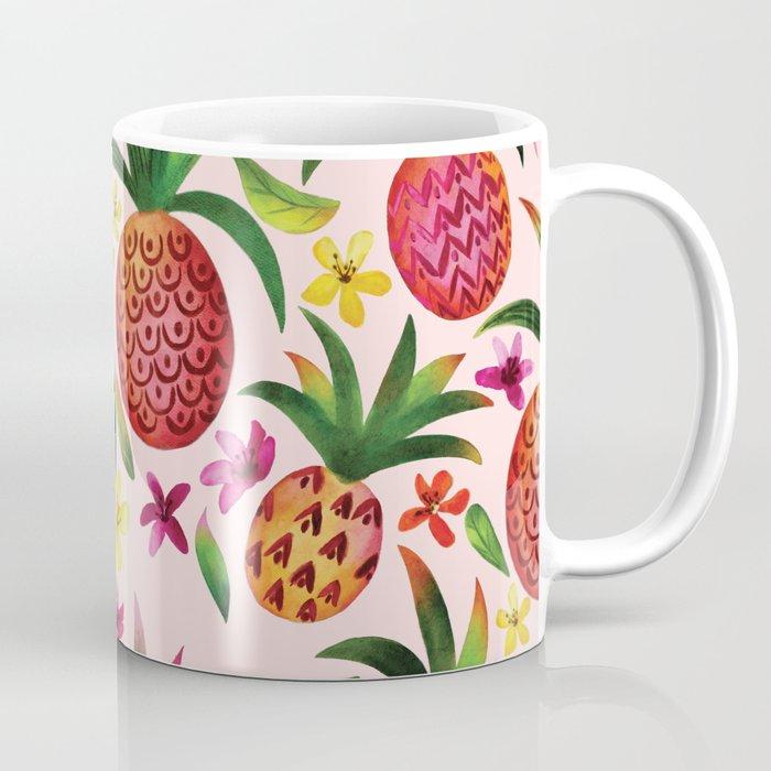 Tropic Pineapples Coffee Mug