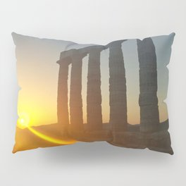 Temple of Poseidon Pillow Sham