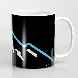 Downhil Skiing Coffee Mug