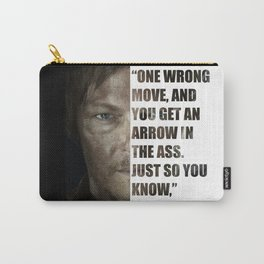 Daryl from The Walking Dead Carry-All Pouch