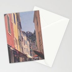 A Street In Cassis Stationery Cards