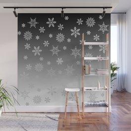 Snow Flurries Wall Mural