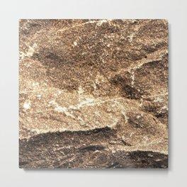 Chiseled Rock Metal Print