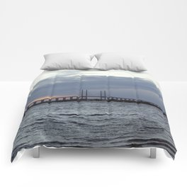 Oresund Bridge, Sweden  Comforters