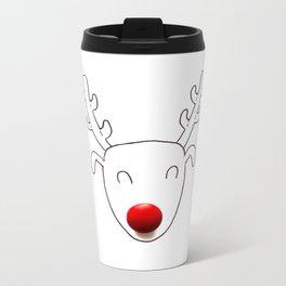 Rudolph Metal Travel Mug