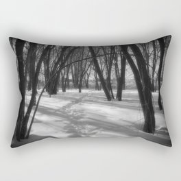 Deer Tracks Rectangular Pillow