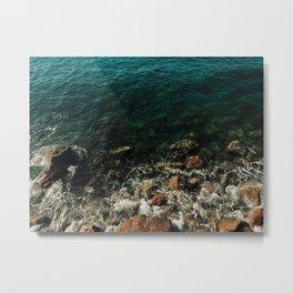 Salty Sea Metal Print