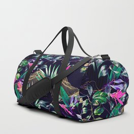 Golden Waves in the Dark of the Jungle Duffle Bag