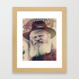 Rebbe, Inspire me.  Framed Art Print