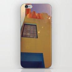 Window on Orange Wall iPhone & iPod Skin