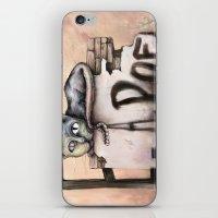 edgar allan poe iPhone & iPod Skins featuring Edgar Allan Poe by Andreas Derebucha