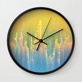 Reversible Space / Imagiary Cities 19-02-17 Wall Clock