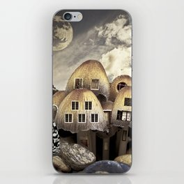 Mushrom Village iPhone Skin
