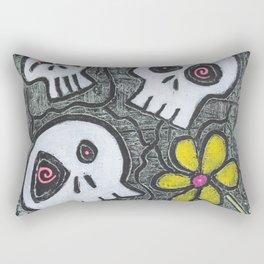 Digging for Skulls Rectangular Pillow