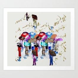 Chinese Grandmas Art Print