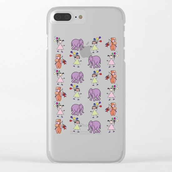 pattern 13 Clear iPhone Case