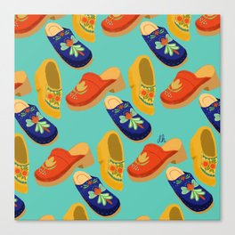 clogs Canvas Print