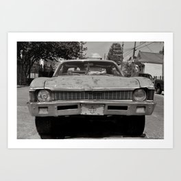 Bywater Car - New Orleans, Louisiana Art Print