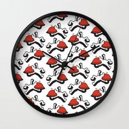 As de Corazones Wall Clock
