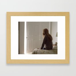 Untitled, Film Still #1 Framed Art Print