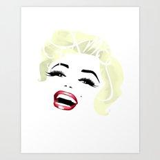 Bombshell Series: Fame - Marilyn Monroe Art Print