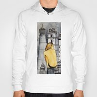 lighthouse Hoodies featuring lighthouse by The Traveling Catburys
