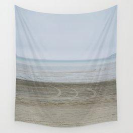 Airport on the beach Wall Tapestry