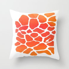 Giraffe Print | Animals Throw Pillow