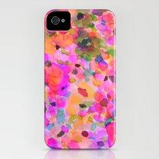 Fleur iPhone (4, 4s) Slim Case