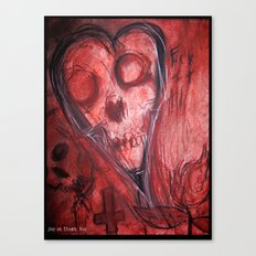 Tales Of A Scorched Earth Canvas Print